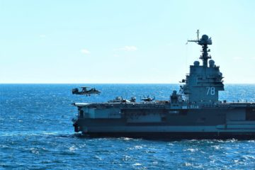 GA's EMALS & AAG Support Successful USS Gerald R. Ford Flight Deck Certification