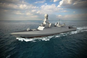 "Fincantieri Launches Qatar's 1st Air Defense Corvette ""Al Zubarah"""