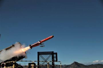 First end-to-end firing for MBDA's Marte ER Anti-Ship Missile