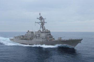US Navy's future USS Delbert D. Black destroyer completes acceptance trials