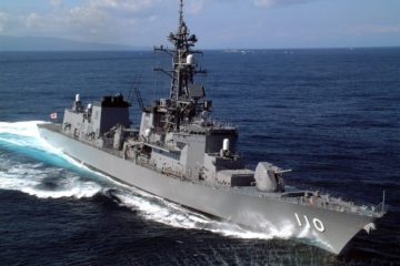 JMSDF Destroyer Takanami Deploys to the Middle East to Secure the Safe Navigation of Civilian Vessels