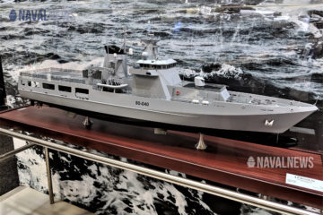 Construction begins on Australia's 3rd Arafura-class OPV