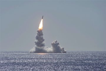 Ohio-class SSBN USS Maine successfully tests Trident II D5LE missile