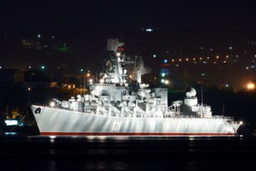 Russian Navy Slava-class Cruiser Moskva to Serve Another 10 Years