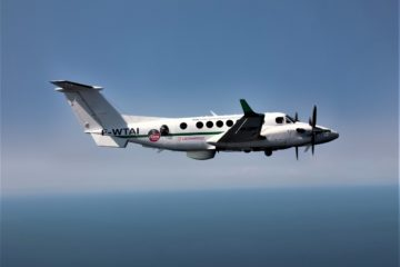 King Air 350ERs start maritime patrol duties in Africa