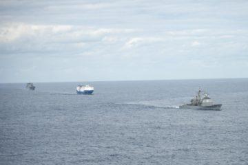 U.S. Navy Trains Trans-Atlantic Convoy Escort
