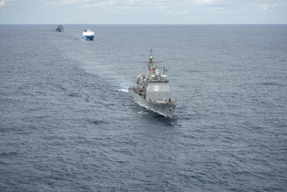 U.S. Navy Trains Trans-Atlantic Convoy Escort 2