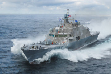 US Navy receives 10th Freedom-Class Littoral Combat Ship (LCS 19)