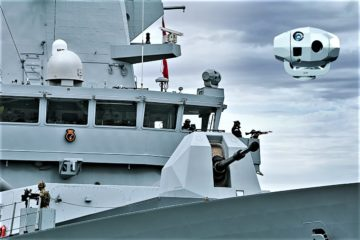 Ultra continues support of electro-optical tracking systems for the Royal Navy Type 45 Destroyer