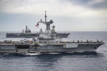 U.S., U.K., France Strengthen Partnership during Virtual Trilateral Maritime Talks