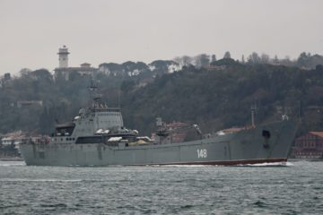 The Russian Navy's Bosphorus Relay Resupplying Syria Continues