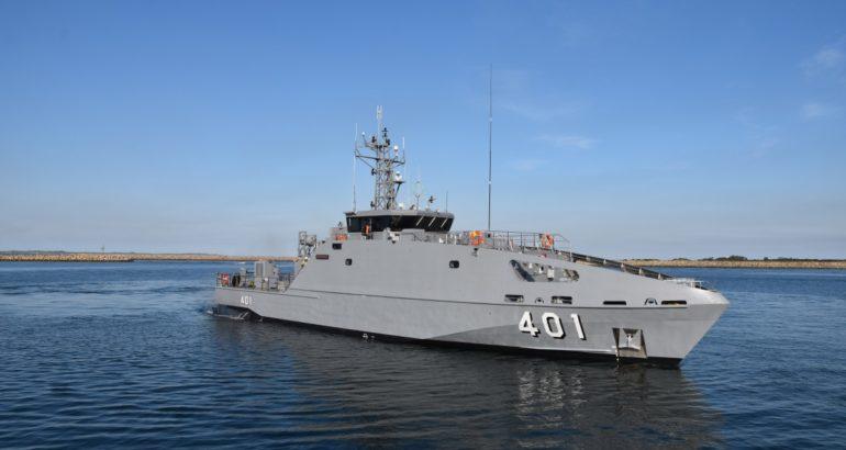 Australia Delivers Austal-built Guardian-class Patrol Boat to Fiji