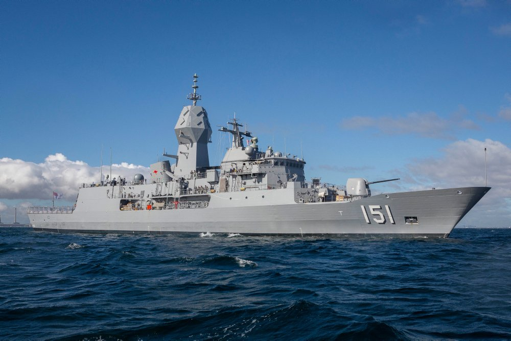 Australian Frigate HMAS Arunta Fires First ESSM Following Upgrade 2