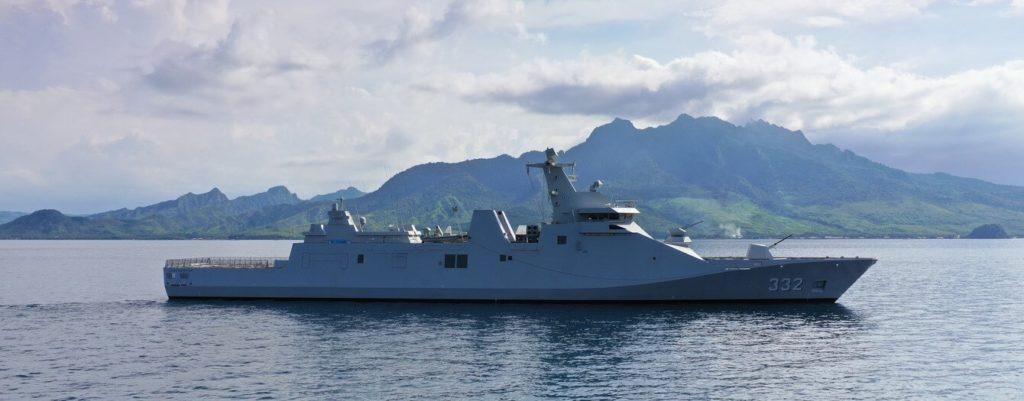 Damen completes combat systems installation & trials on TNI AL's 2nd PKR Frigate 2