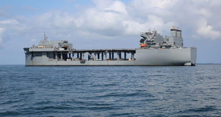 expeditionary sea base USS Hershel 'Woody' Williams (ESB 4)