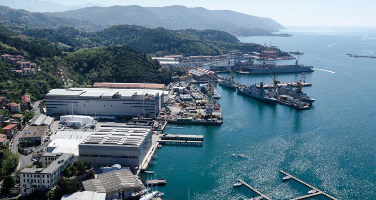 Fincantieri Shipyard in Muggiano.