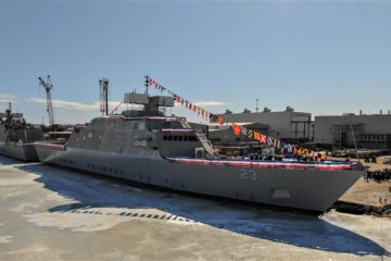 Freedom-class Littoral Combat Ship 23 'Cooperstown' Christened