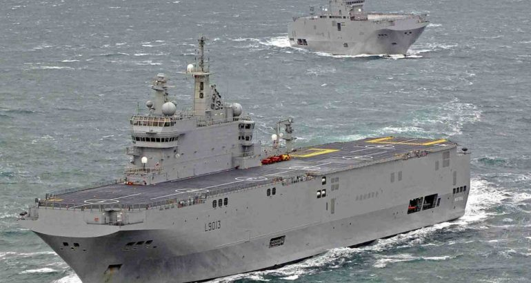 French Navy Mistral-class LHDs to Fight COVID-19 in Reunion & Caribbean 1