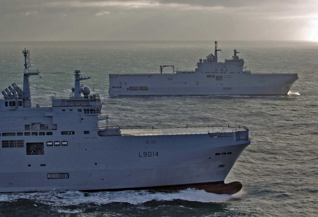 French Navy Mistral-class LHDs to Fight COVID-19 in Reunion & Caribbean 2