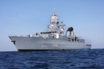 German Navy F124-class Frigate Hamburg Set for 5-month Indo-Pacific Deployment