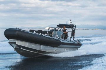 German Navy's new Gecko rescue boat readying for delivery