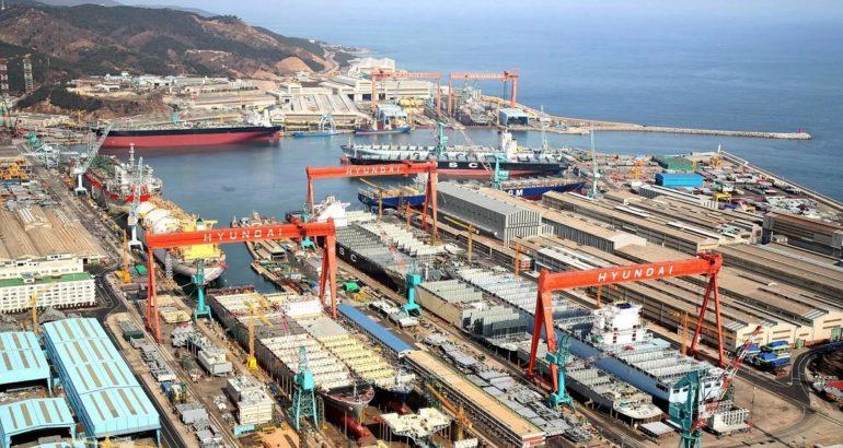 Hyundai Heavy Industries Ulsan Shipyard, South Korea