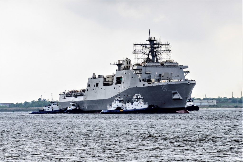 The future USS Fort Lauderdale (LPD 28)
