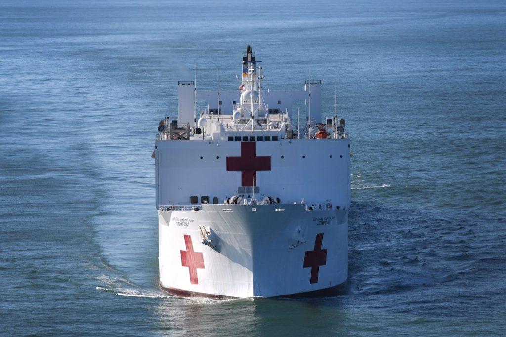 Hospital ship USNS Comfort T-AH-20