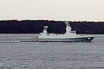 Israel Navy's New SA'AR 6 Corvette Begins Initial Sea Trials