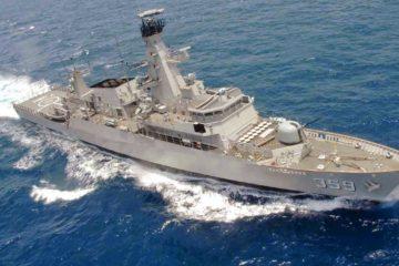 Len Industri & Thales to Modernise Indonesian Frigate KRI Usman-Harun