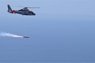 MBDA's ANL / Sea Venom Missile Aces First Qualification Test Firing