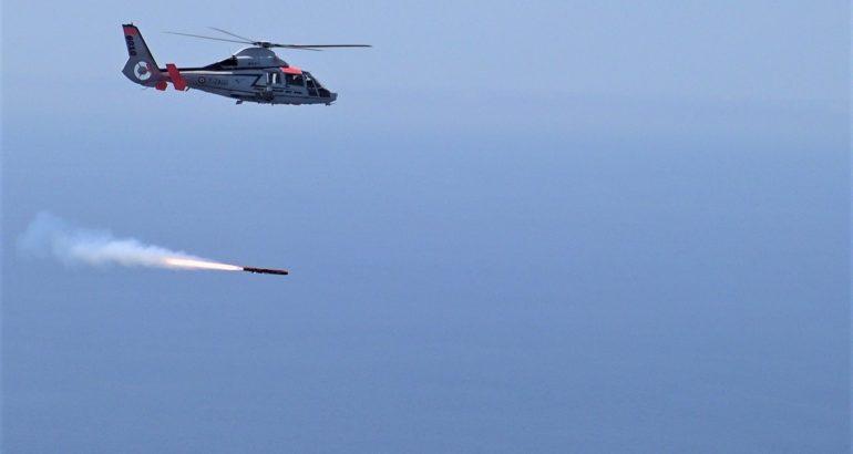 MBDA's ANL Sea Venom Missile Aces First Qualification Test Firing2
