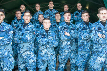 New Camouflage Uniform for Italian Navy Divers
