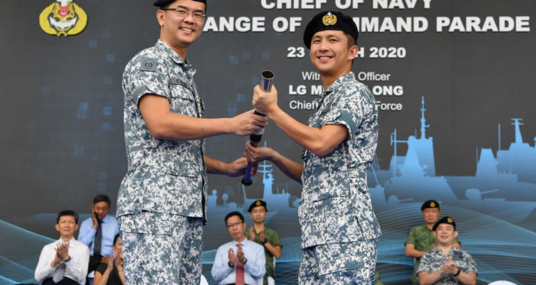 New Chief of Navy in Singapore