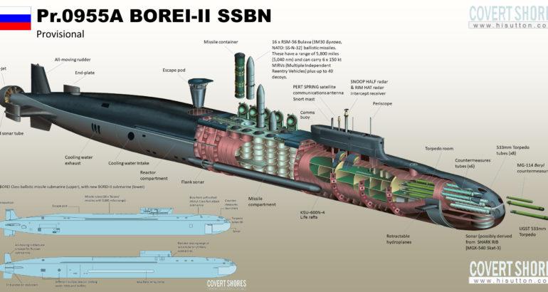 Project 955A Borei-A SSBN