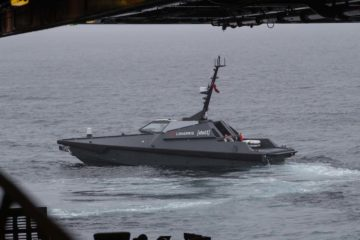 Royal Navy completes unmanned equipment trials in Arctic conditions