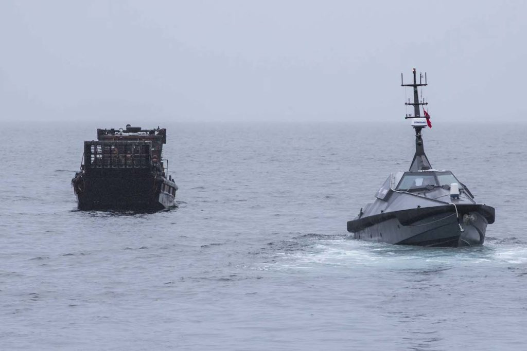 Groundbreaking' trials in Norway saw a collection of unmanned equipment tested in an operational setting for the first time, in a number of milestones for the naval service's autonomous future, the Royal Navy announced on March 6.