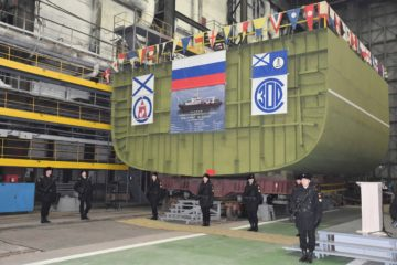 Russian shipyard lays down Project 19910 hydrographic vessel