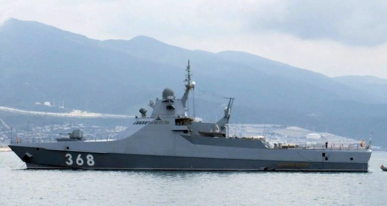 Russia's Project 22160 Patrol Vessel Vasily Bykov