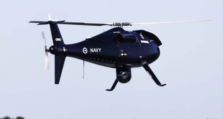 Schiebel Completes Heavy Fuel Acceptance Tests for Royal Australian Navy