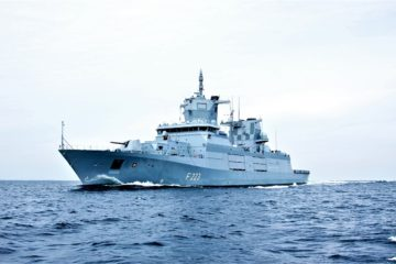 Second F125 Baden-Württemberg-class Frigate Delivered to Germany
