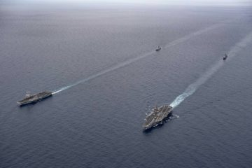 U.S., French Navies Conduct Dual-Carrier Ops in Mediterranean