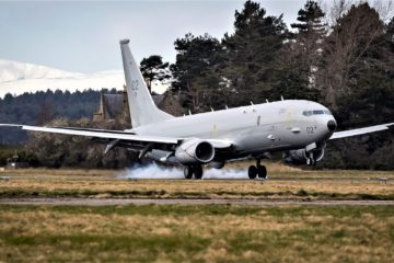 2nd Poseidon MRA Mk1 MPA Touched Down in the UK