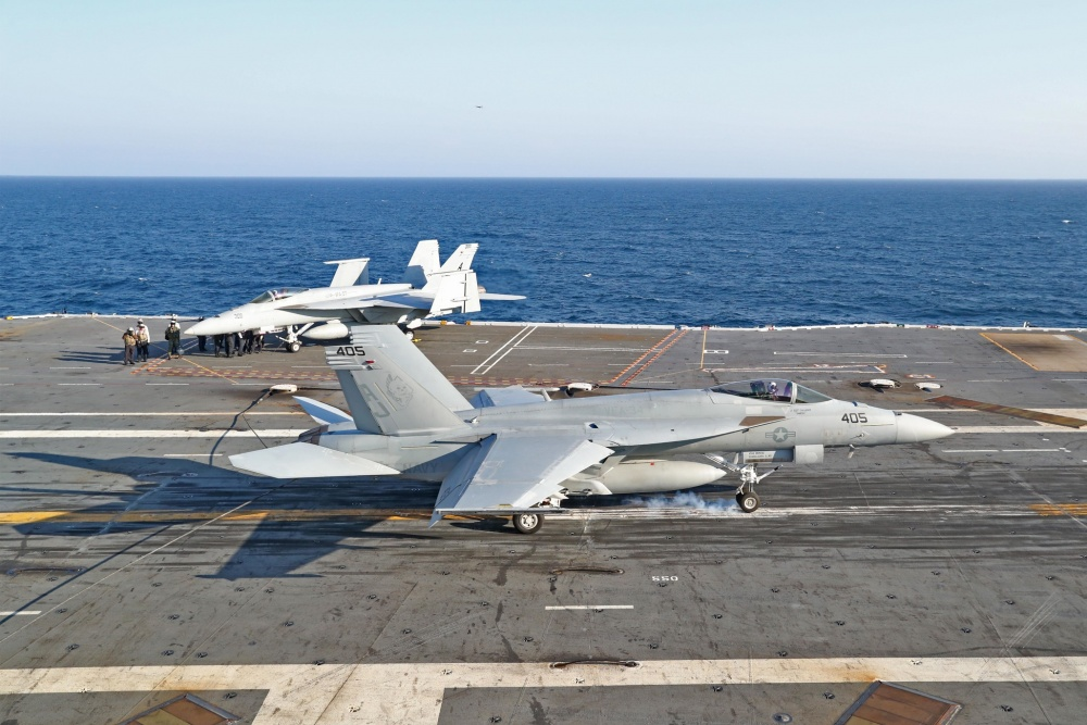USS-Gerald-R.-Ford-Achieves-1000th-Aircraft-Arrestment