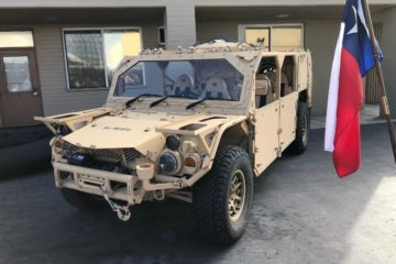 USSOCOM Adds Armor to Increase Crew Protection on its M1288 GMV 1.1s