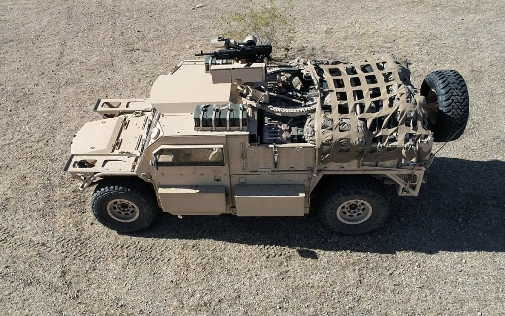 General Dynamics Flyer® 72 Tactical Utility Vehicle (TUV), not in service with USSOCOM