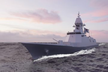 HHI Wins Construction Contract for ROK Navy's FFX Ulsan-class Batch III Frigate