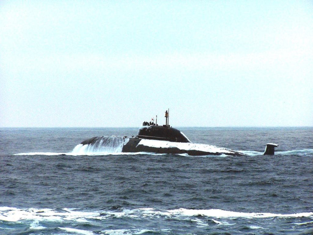 Vepr K-157 Akula-class SSN