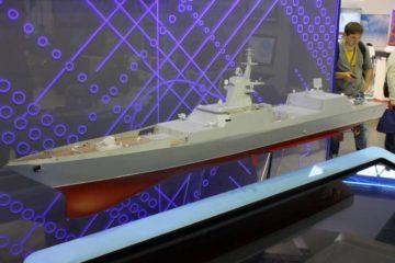 Development Of Future Russian Navy's Project 22350M Frigate Is Underway