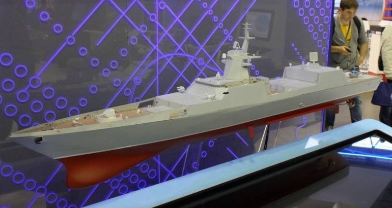 Russia to Start Construction of New Project 22350M Frigate in 2024